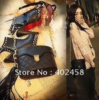wholesale/retail free shipping tassels cask bag/Shoulder bag