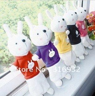 Free Shipping Metoo cartoon Rabbit plush pencil case/Handbag Pendant