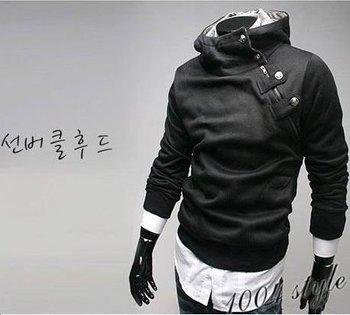 Free Shipping,South Korean Fashion Men's Hoody Jacket,Hot Sale Men's SweatShirt Blazer,4 color,Asia:M-XXL