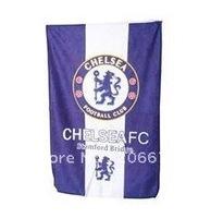 Cotton Chelsea Football Club Design Towel (Blue),Chelsea design towel,Club towel,free shipping