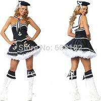 Wholesale Fashion Maid Costumes  Halloween Costume  Sexy Dress 7042