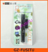 Multi-function Cleaning Lens Pen with LED Light & Compass