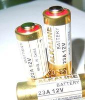 FEDEX Free shipping 500pcs/lot alkaline battery A23 23A