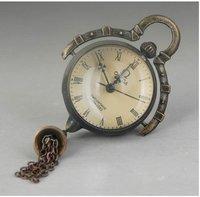 beautiful bronze bell cclock machine free shipping
