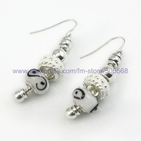 free shipping 120pairs/lot wholesale beautiful fashion 925 sterling slap-up earring slap-up silver eardrop best jewelry for you