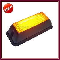 VS-728 LED External Light for car LED grill light  6 Gen3 1W LEDs 18 flash pattern, synchronization, 100% waterproof