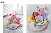 Early Learning Centre(ELC) Blossom Farm Sit Me Up Cosy - Infant Inflatable sofa Baby seat BABY SOFA,ELC inflatable game pad