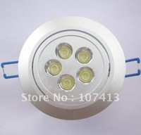 selling 5*1W high lumen led down light/ led ceiling light/ led commercial lighting for free shipping