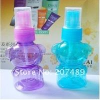 Fashion cute personal care Perfume Atomizer Sprayer Spray Bottles Transparent Empty Spray Bottle 50ML
