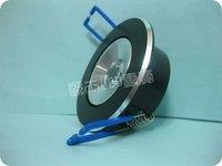 Power LED1 * 3W 220V MR11 aluminum downlight ceiling spotlights showcase black light TH02