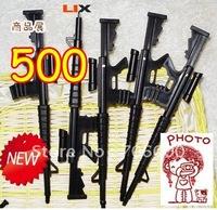 Wholesale 500pcs/lot2011 New Arrival Novelty M16 Gun Pen / Ball Point Pen Best Gift For Kids Wholesale Lot OF 500