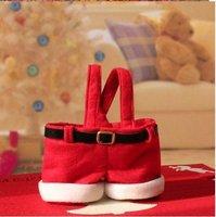 20pcs free shipping FASHION,X'MAS candy bag ,Christmas Santa Candy Gift Bag,Christmas decorations
