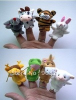 New Baby Toy,Finger Puppet,12 Kinds Of Marine Animals Hand Finger Puppet,Free Shipping!240pcs/lot,Wholesale Price!