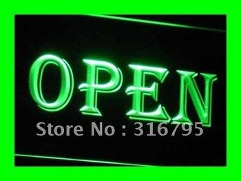 i019-g OPEN Shop Cafe Bar Pub Business Neon Light Signs