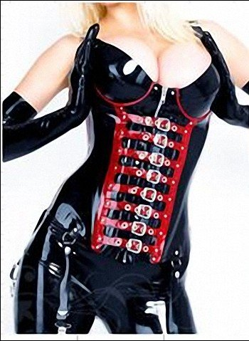 Latex clothing, latex belt clip, waist(China (Mainland))