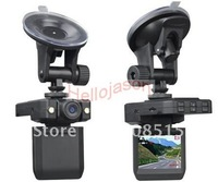 Free Shipping P5000 HD Car Vehicle DVR Camera Video Recorder 2LED 1pcs/lot