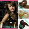 Nail Human Hair Extension(20inch 0.5g/strand 613#)