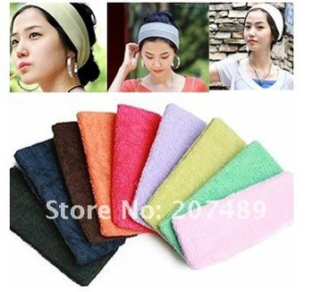 candy color sports yoga hair tools  Maker Wide  band forehead  decoration head  unisex