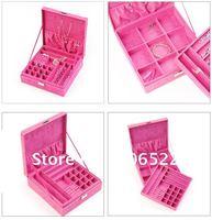 Jewellery Box/Case Multideck Jewellery box excellent multideck Jewel case Freeshipping