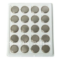 20 pieces CR2430 2430 DL2430 ECR2430 3V Lithium Button Cell Coin Battery Wholesale free shipping