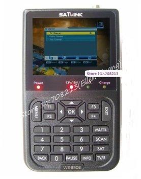 Free Shipping (EMS) Satlink WS-6906 Digital Satellite Finder Meter DVB-S Digital Satellite Signal Finder Meter