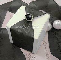 FREE SHIPPING--100PCS Black Brads Paper Fastener for Scrapbooking Wedding Stationary Favor Box DIY Craft Supplies