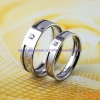 free shipping 12 couple/lot fashion ring lovers ring high-grade ring best jewelry best gift