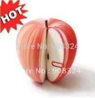 6pcs/lot free shipping wholesale creative special notepad fruit notepad memo pad novel gift apple shape