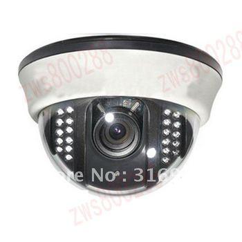 520TVL SONY CCD Color Video Dome CCTV Surveillance Security Camera System DVR W39