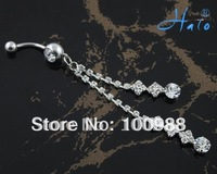 Free Shipping 12pcs/lot Fashion Body Belly Ring  Helix Piercings BJ00391
