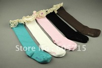 wholesale  free shipping 10 Pairs Girl's Socks Stocking Short Socks Size 13~19CM for 2~8 years Wholesale Baby Wear,drop shipping