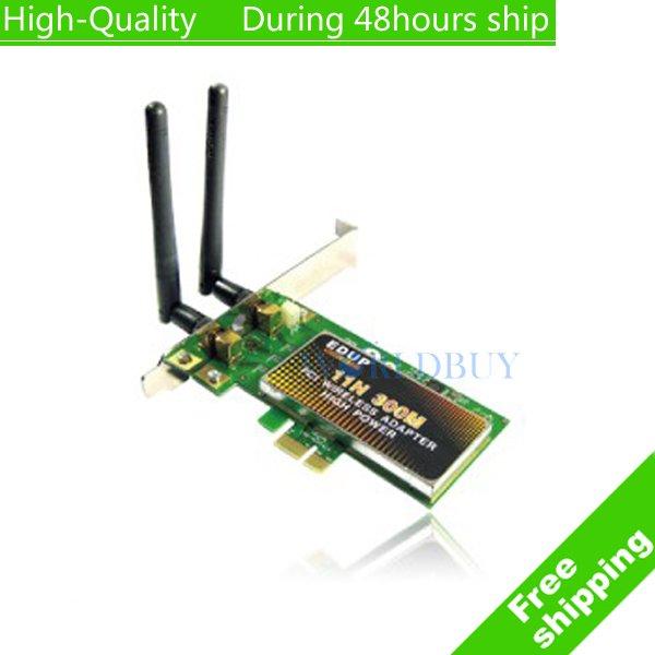 NEW EDUP EP-9601 802.11N 300M mini WIFI Nano USB Wireless Adapter Network Card Free Shipping DHL HKPAM CPAM UPS(China (Mainland))