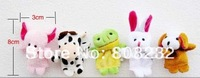 B 10pcs/lot free shipping wholesale finger animal puppet animal finger baby toy baby dolls finger doll animal doll toy nice gift