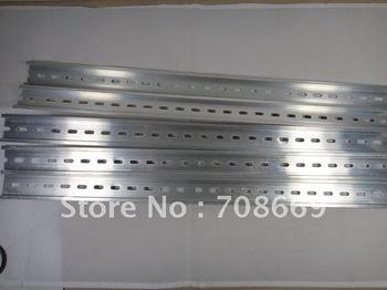 5pcs 0.5 Meter Aluminum Slotted DIN Rail