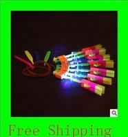 LED Illuminated Arrow Helicopter LED light toy gift kids christmas children's day