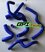 Austin Mini Cooper 1.3 L 67 - 91 BLUE performance silicone radiator hose PIPE,auto parts
