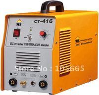 DC Inverter welding equipment TIG/MMA/CUT Welding machine Multi Function CT416, free shipping, wholesale/retail, 2pcs 10% OFF.