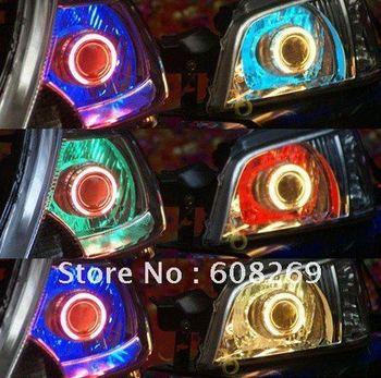 freeshiping!NEW! 2011 best selling Wholesale HID/ demon eyes/double eye/light lens/HID KIT/LED/lights/Angel eyes