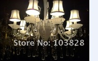 free shipping glass chandelier/shade chandelier/ for dining hall,bedroom,meeting room,hall