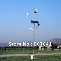 solar and wind power hybrid system 100w,solar and wind LED street light,high quality,good after-sales service