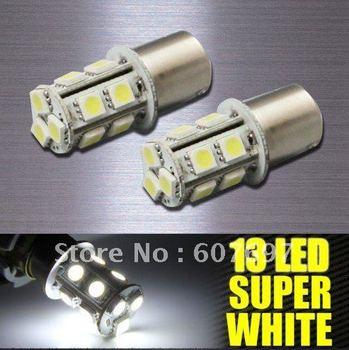 1156 BA15S RV TRAILER 12V LED LIGHT BULB 13 SMD 5050