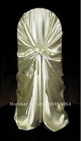Hot Sale Popular Wedding chair cover satin chair cover