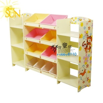 Toy receive frame  bookshelf  Stowage frame