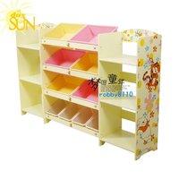 Toy receive frame  bookshelf  Stowage frame
