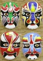 Men Masquerade Mask to Decorate Paper Mache Full Face Chinese Crafts Masks 10pcs/lot mix Free