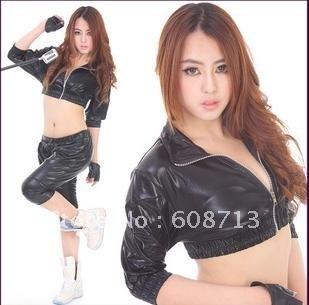 Fashion Haren hip hop dazzling set stage racing suit singer DS performance clothing, dance clothing dance clothing