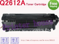 (Free Shipping) Q2612A Q2612 2612A 12A 2612 toner cartridge for HP 1010,1012,1015,1018,1020,1022,M1005MFP,3015,3020,3030,3050