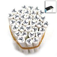 500cane White Pattern Polymer Clay Nail Art Cane Free Shipping