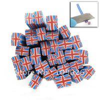 500cane Blue UK Flag Polymer Clay Cane Nail Art Free Shipping