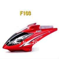 Free shipping F103 Avatar head cover canopy rc spare parts accessories for 20cm rc helicopter F103